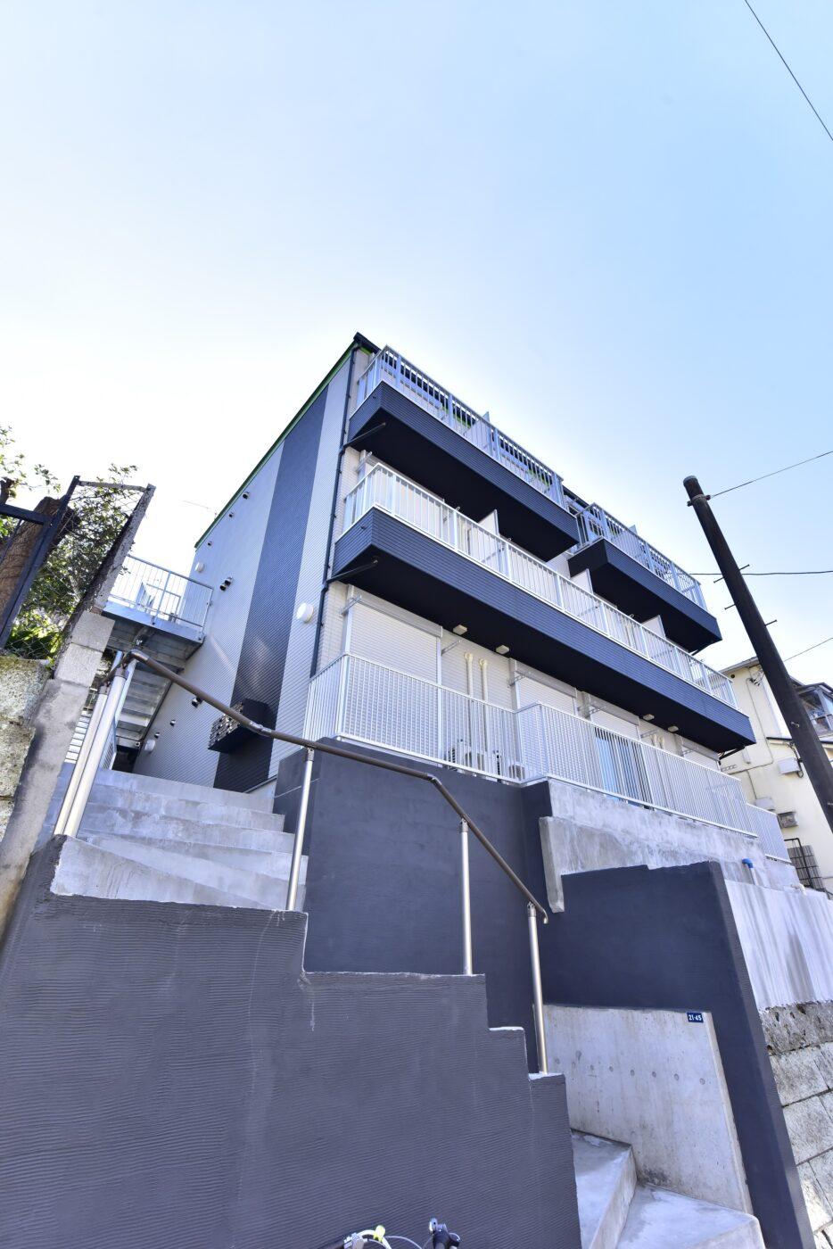 横浜市神奈川区神大寺1丁目の土地